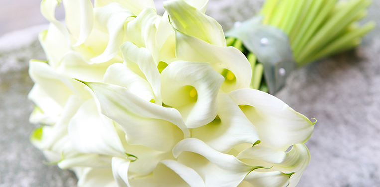 London Wedding Florist Cala Lilies Bouquet Amanda Austin Flowers