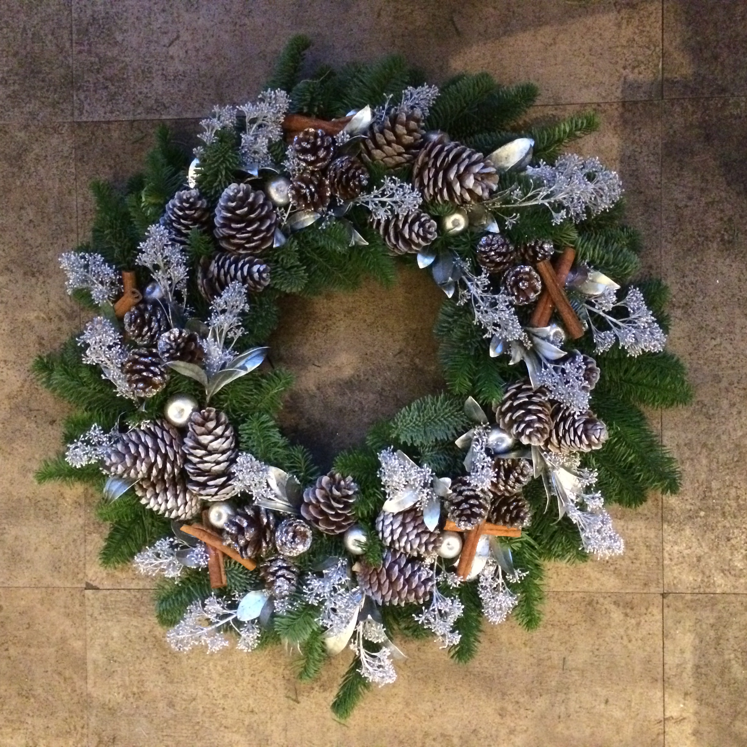 Christmas Wreath | Amanda Austin Flowers | Blog