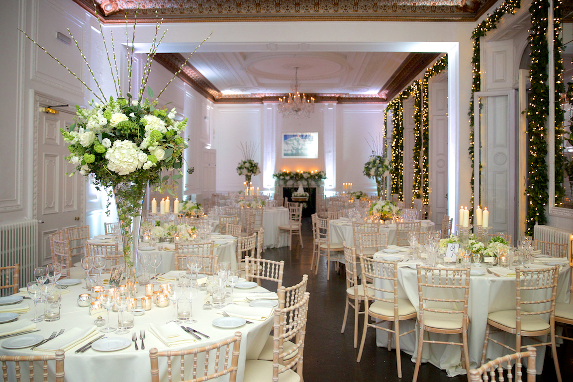 Amanda Austin London Florist Wedding Reception Flowers
