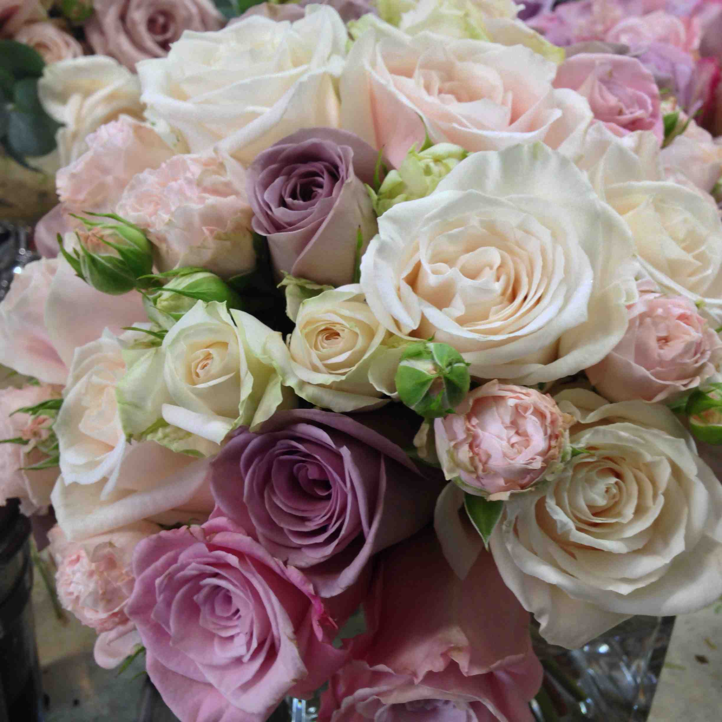 Amanda Austin London Florist Weddings Rose Bouquet