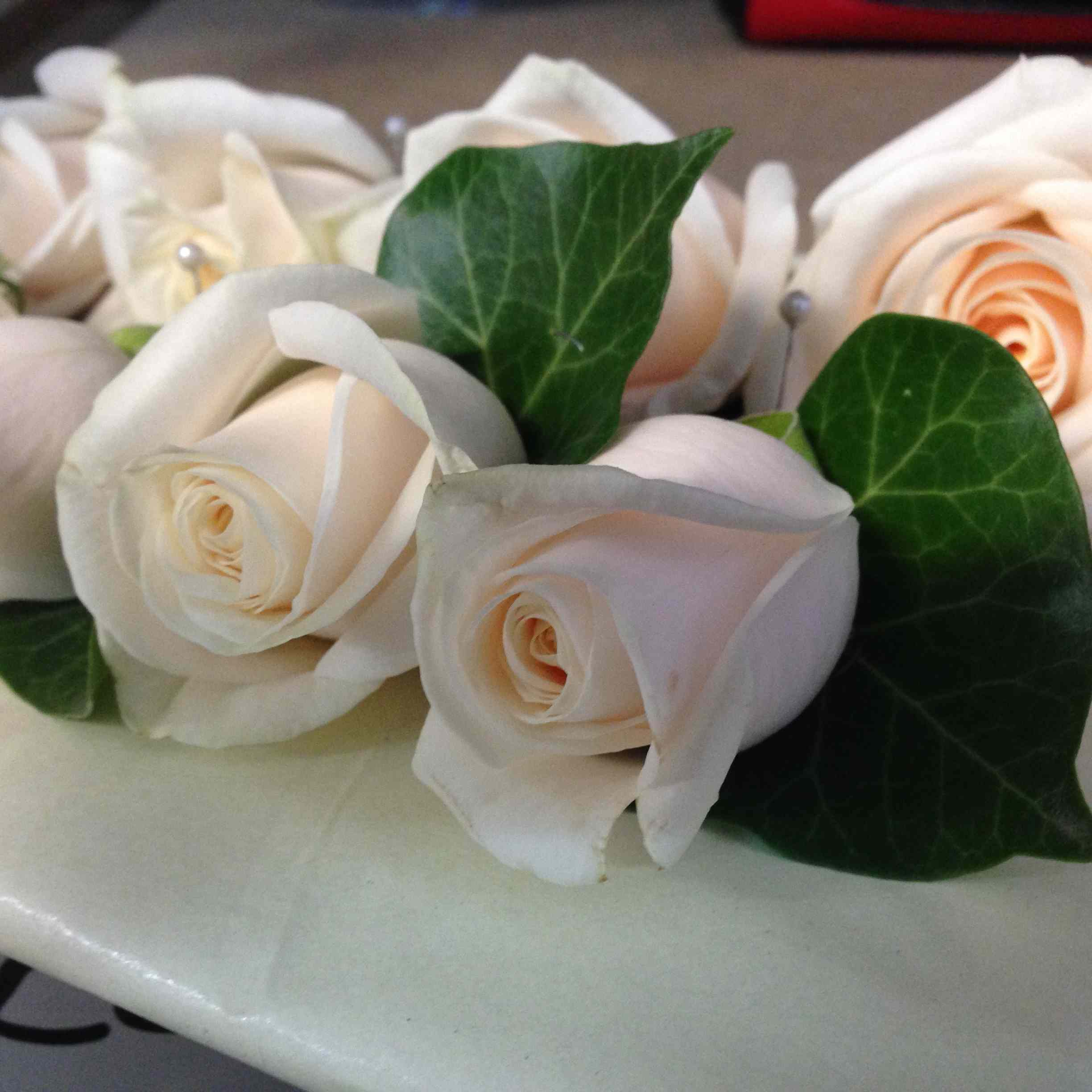 Amanda Austin London Florist Weddings Rose Buttonholes