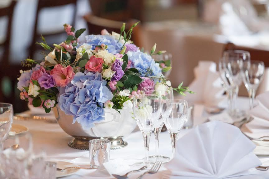 Amanda Austin London Florist September Wedding Table Centrepiece
