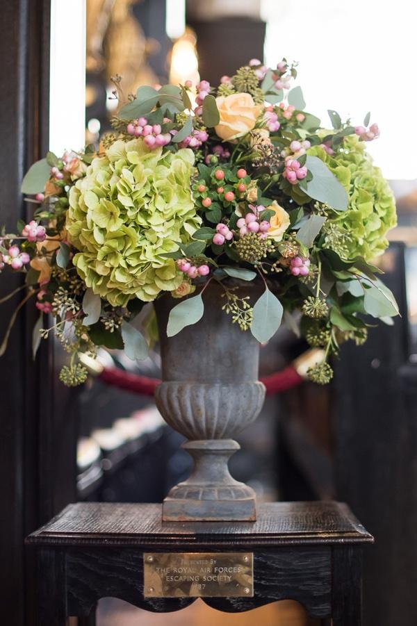 Amanda Austin Flowers Autumnal Church Arrangement