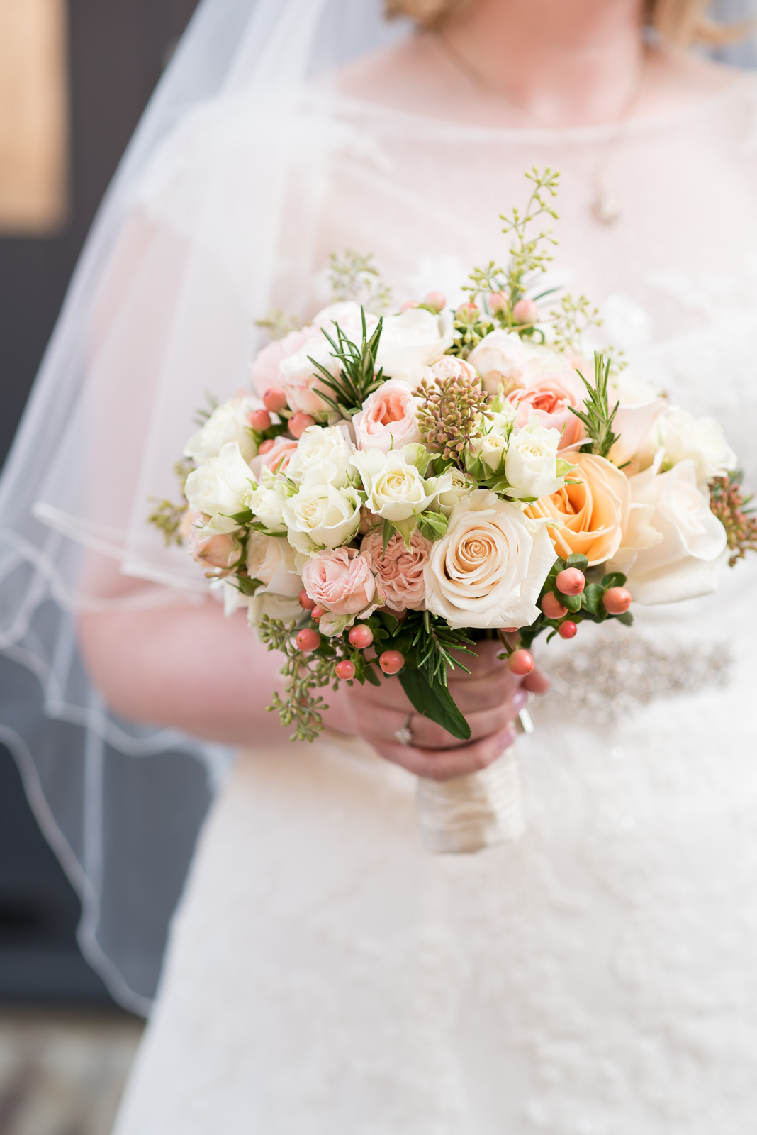 Amanda Austin Flowers Autumnal Bridal Bouquet