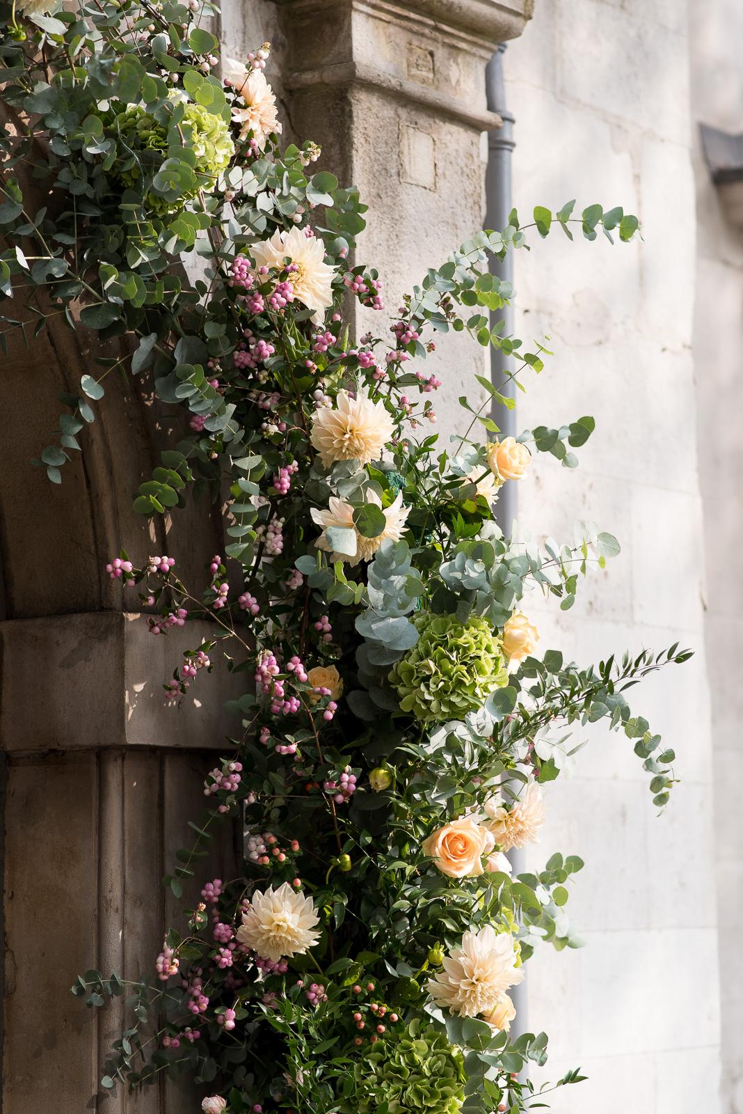 Amanda Austin Flowers Seasonal Floral Arch