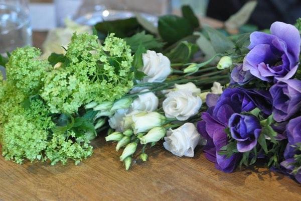 Amanda Austin Flowers Anemones Lisianthus Guelder